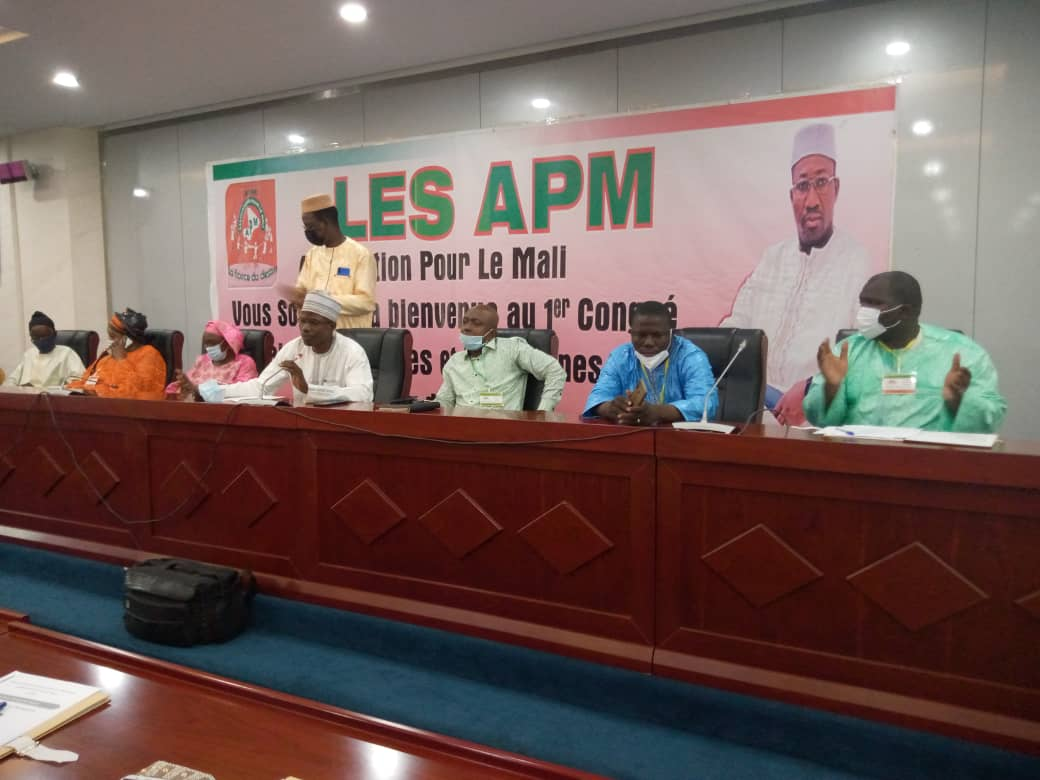 APM : Nouveau bureau politique national des femmes et des jeunes pour 2 ans
