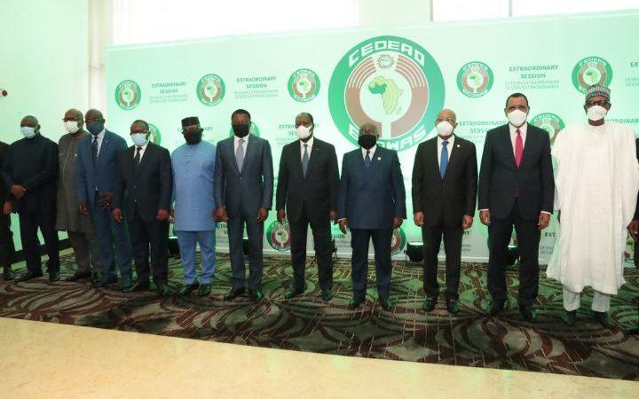 MALI : Les Chefs d'Etats de la CEDEAO optent pour l'accompagnement de la Transition