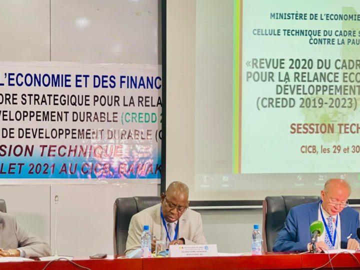 Session technique  de la revue budgétaire conjointe 2021 : L'atteinte des objectifs du CREDD 2019-2023 et des ODD