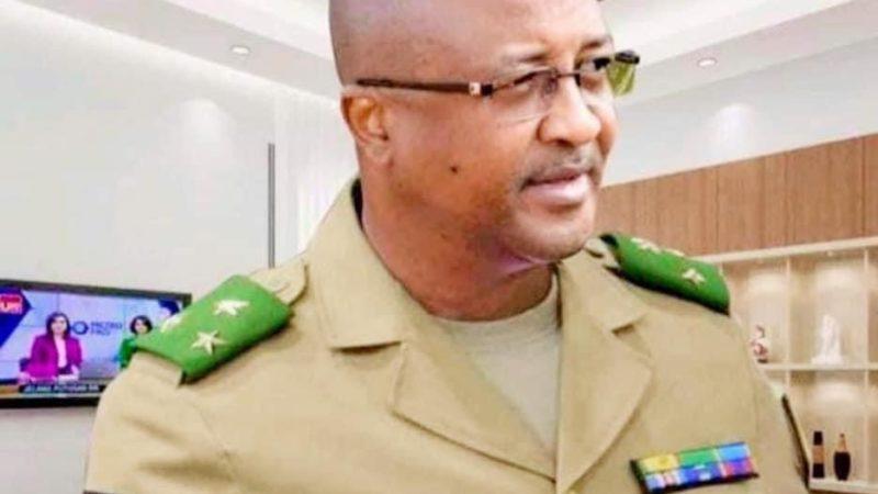 Lettre de remerciement d'un ex-collaborateur du Général Moussa DIAWARA