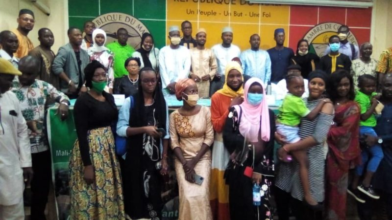 Insertion sociale : La JCI et l'ONG Mali-Folkecenter Nyetaa au chevet des jeunes