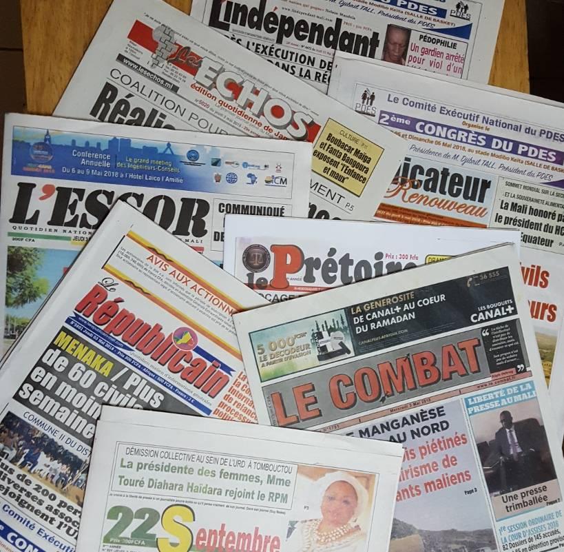 Mali : le colportage n'est du journalisme