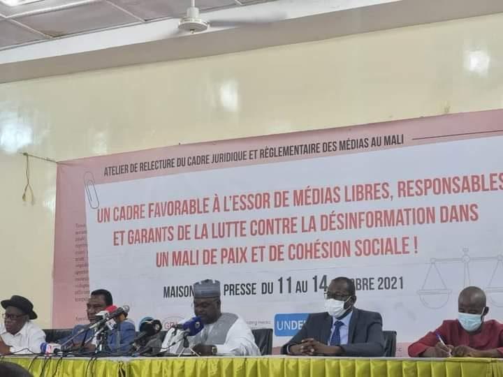 Cadre juridique des medias : Un atelier national sur la relecture  en cours